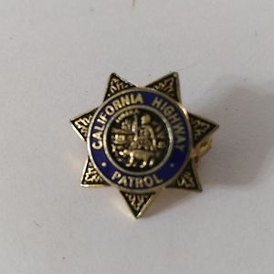 California Highway Patrol pin